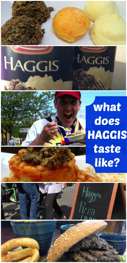 What does HAGGIS taste like? Really.