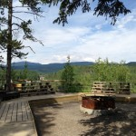 campfire view at Camp Jean Nelson