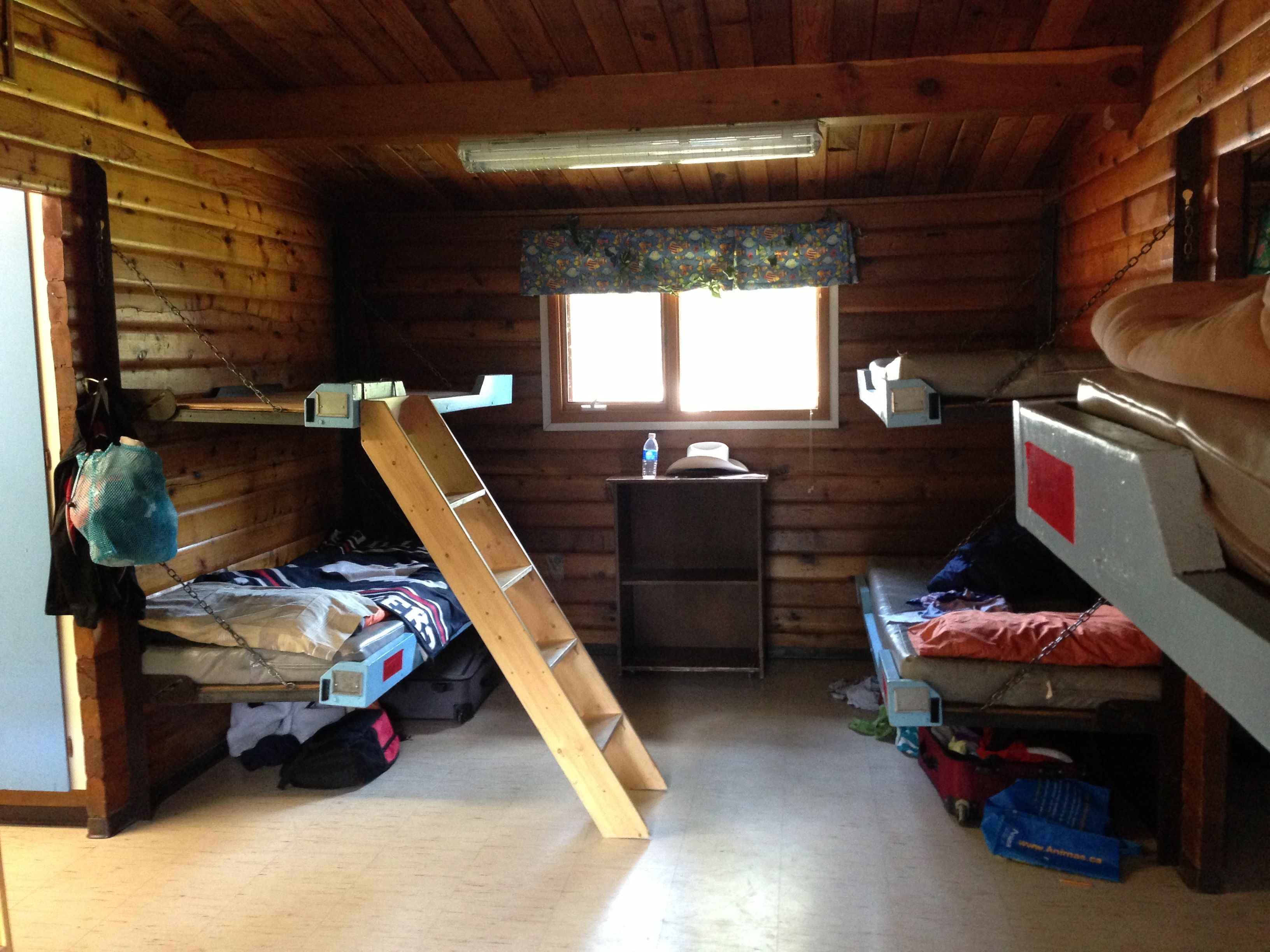Bunks at Camp Jean Nelson