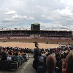 The View From The Grandstand At The Calgary Stampede