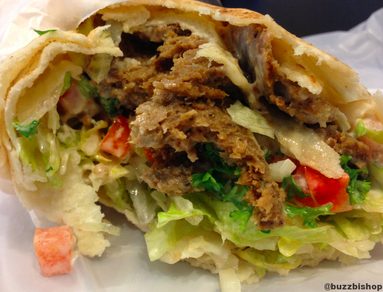 Beef Donair at Centre St Pita