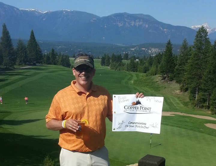 Hole In One At Copper Point Golf
