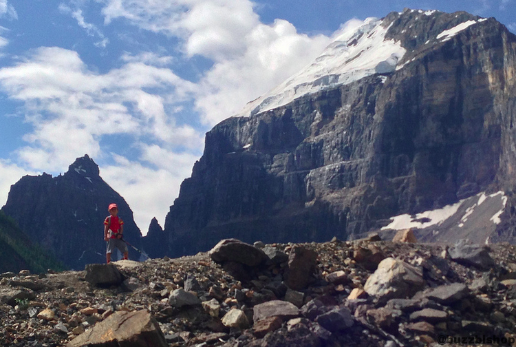 Rocky Mountain Hikes For Kids Plain Of Six Glaciers Hike