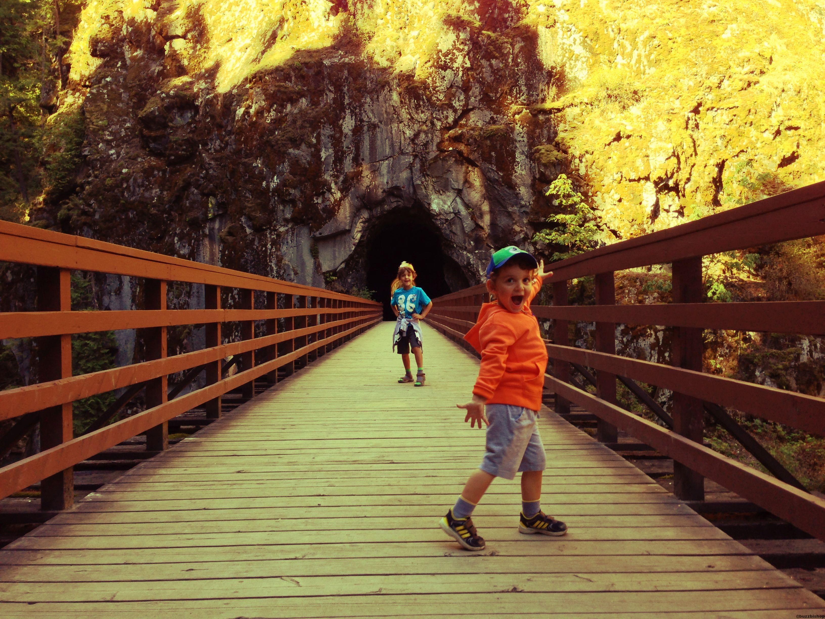 othello tunnels at coquihalla canyon