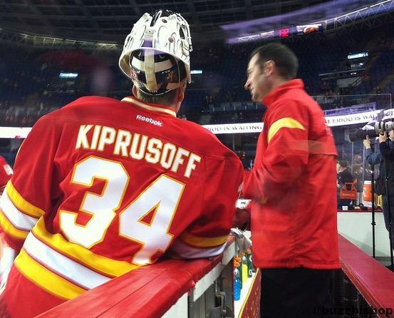 Miikka Kiprussof retires from Calgary Flames