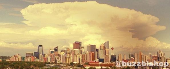Seen in Calgary: Cloud Making Machines