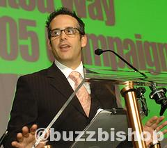 Buzz Bishop emcee United Way
