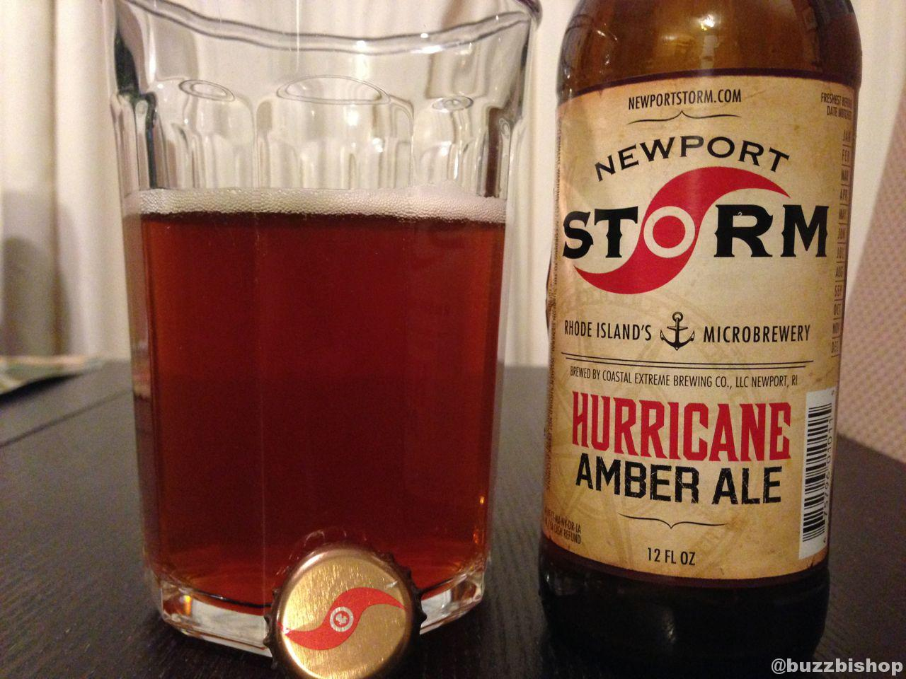 Craft Beer Advent Calendar: Newport Storm Hurricane Amber Ale