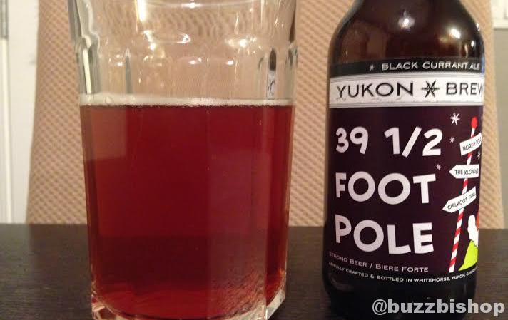 Yukon Brewing 39 1/2 Foot Pole Black Currant Ale