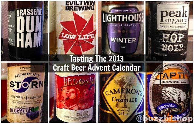 Tasting The 2013 Craft Beer Advent Calendar - Week 3