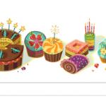 Google Birthday Doodle