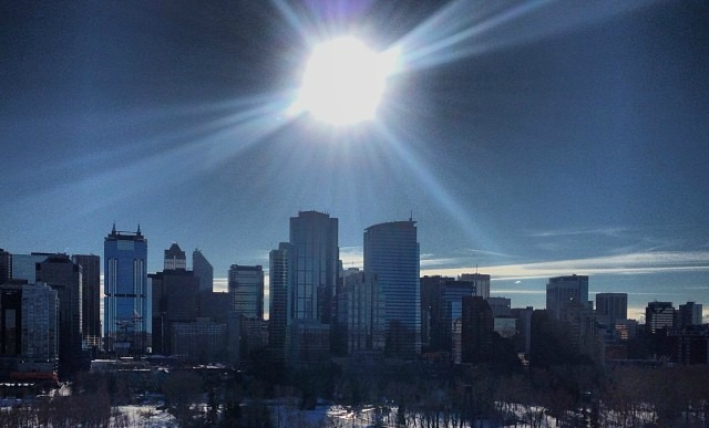 Seen In Calgary: Sun 333 Days A Year