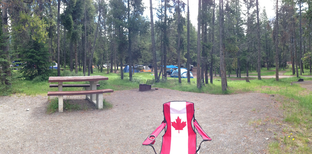 Tunnel Mountain Campground - Buzz Bishop