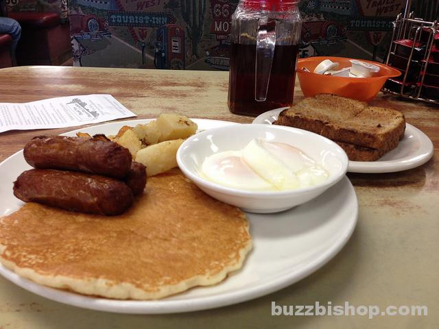 Breakfast At The Blackfoot Truck Stop