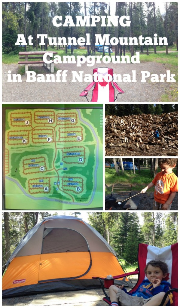 Camping At Tunnel Mountain Campground