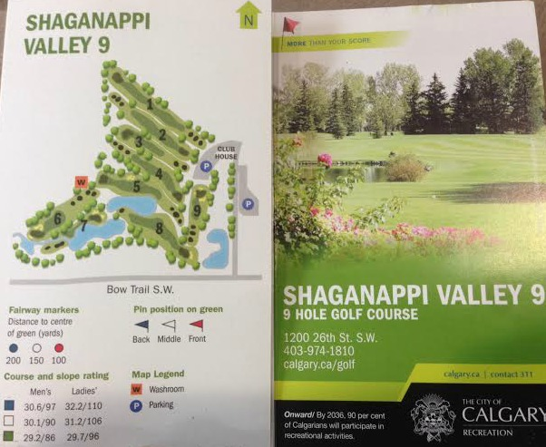 Shaganappi Point Valley 9 Golf Course