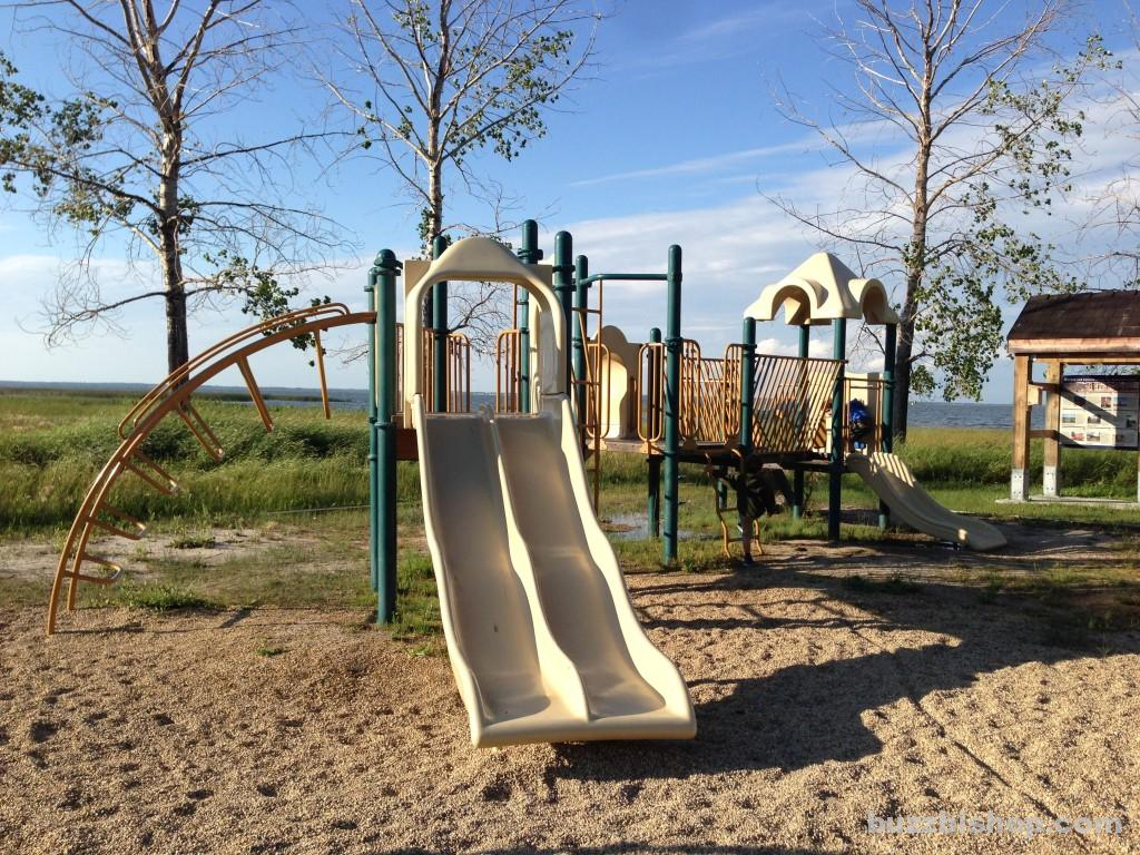 Playground at Rochon Sands Provincial Park - Buzz Bishop