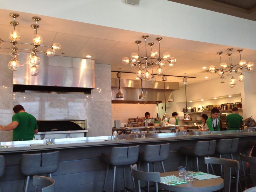 Interior at Bocce Restaurant - Buzz Bishop