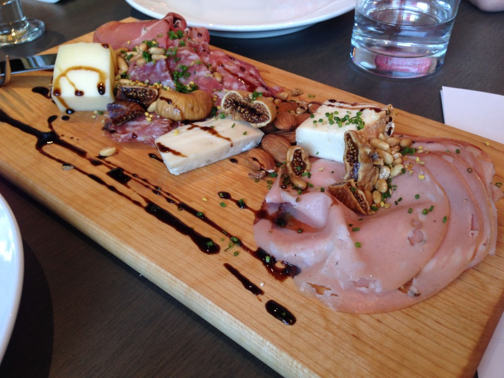 Antipasto at Bocce Restaurant - Buzz Bishop