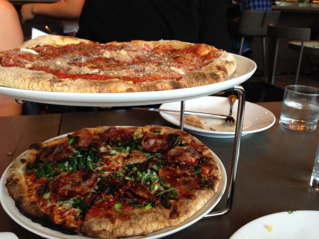 Pizza at Bocce Restaurant - Buzz Bishop