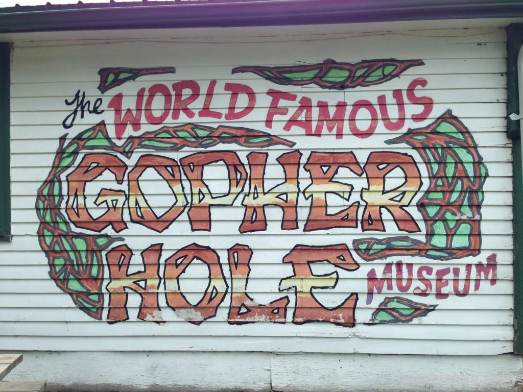 World Famous Gopher Hole Museum | Torrington, Alberta
