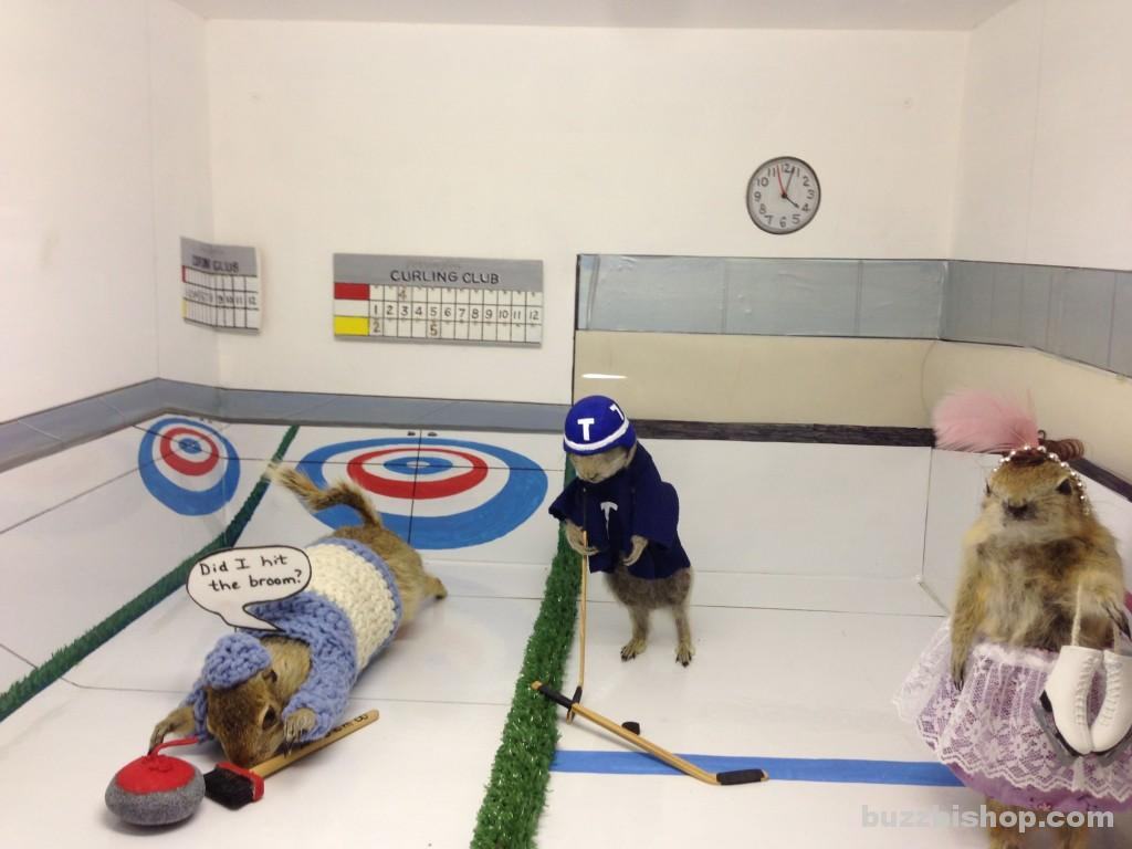 Curling Gophers World Famous Gopher Hole Museum