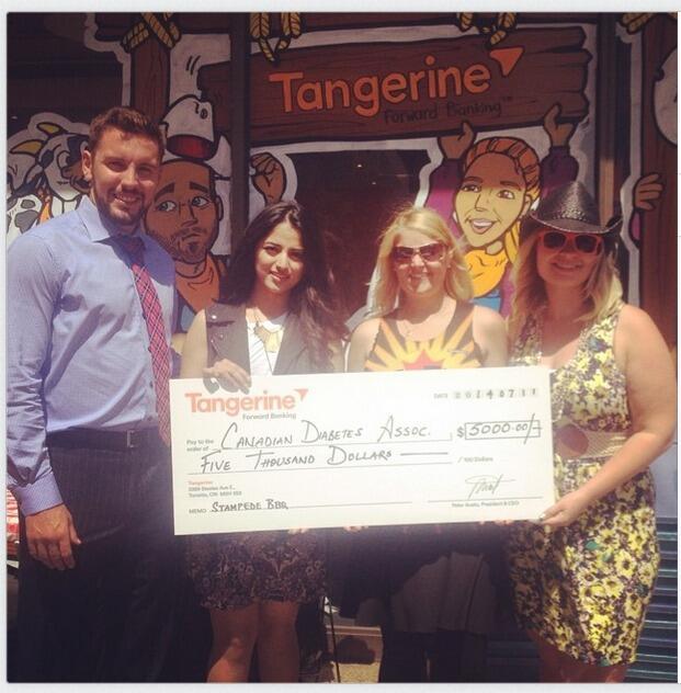 Tangerine Bank TeamDBBQ