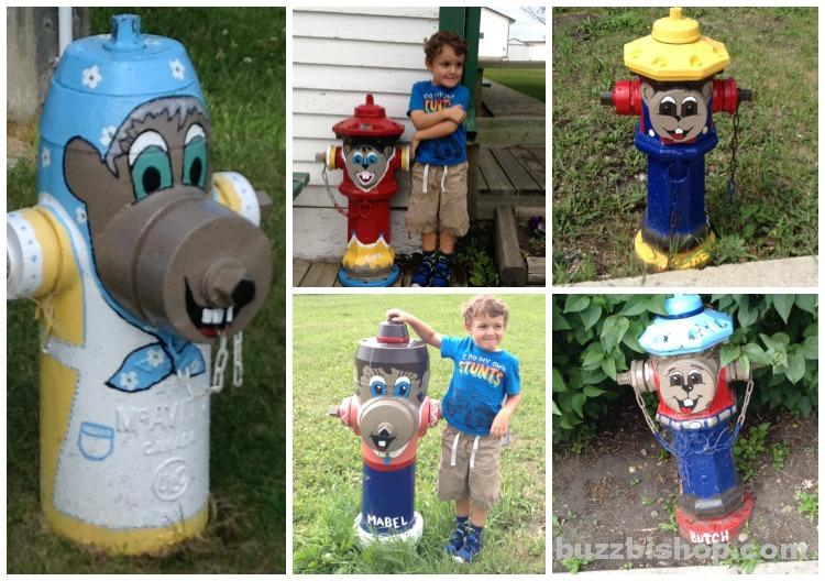 Fire Hydrants In Torrington, Alberta