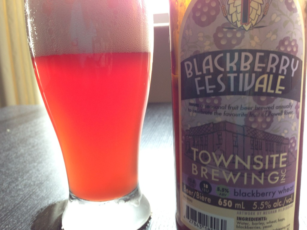 Blackberry Festivale from Townsite