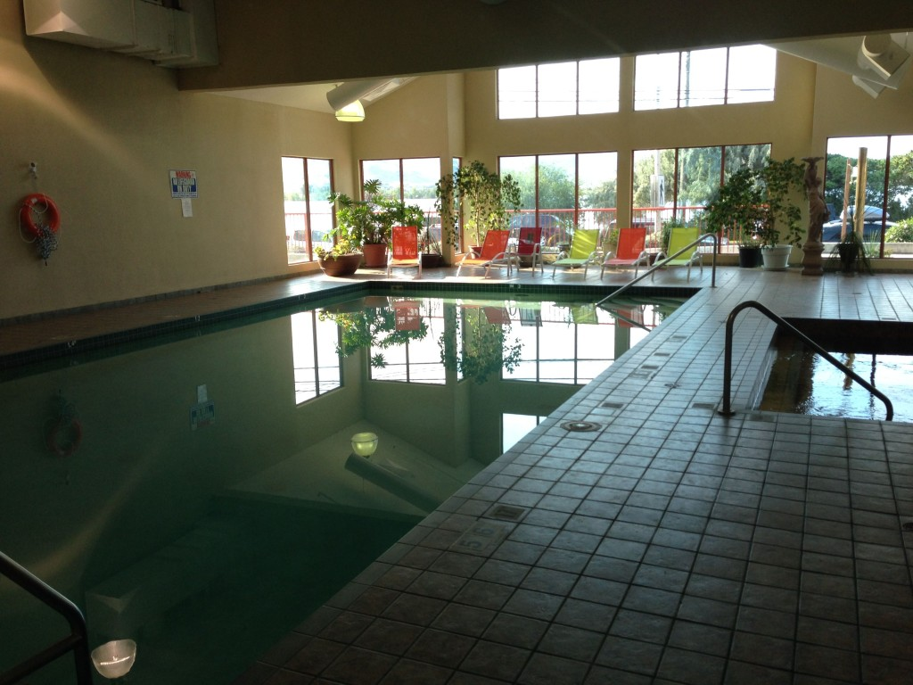 Pool at Holiday Inn Osoyoos