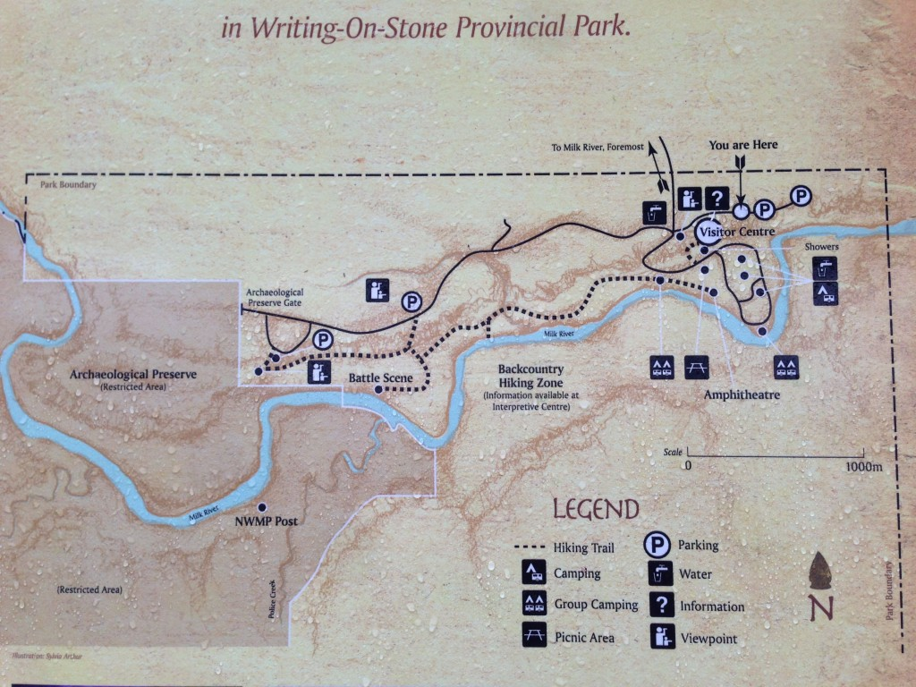 Hiking The Hoodoo Trail Writing On Stone Provincial Park