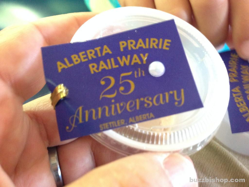 Alberta Steam Train anniversary