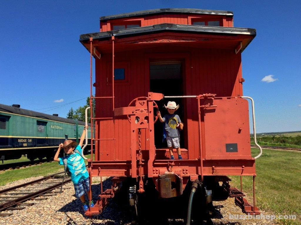 Alberta Steam Train Caboose