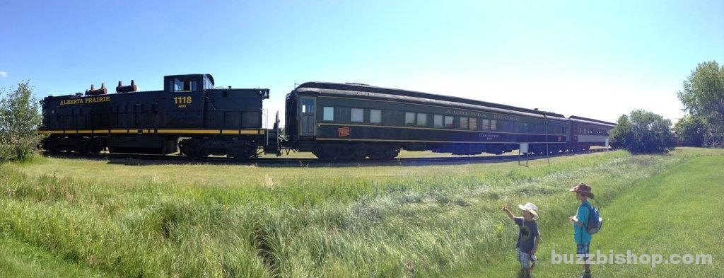 Alberta Steam Train