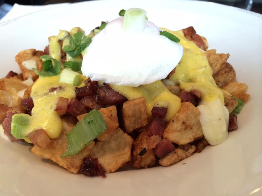 Breakfast Poutine at Diner Deluxe