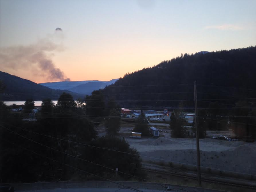 Forest Fire in the Kootenays