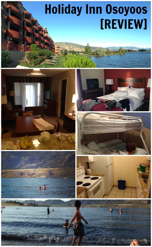 A review of the Holiday Inn Osoyoos