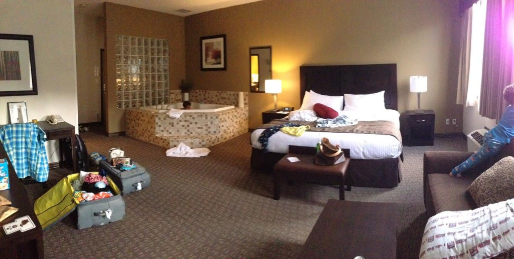 Jacuzzi Suite at Baker St Inn