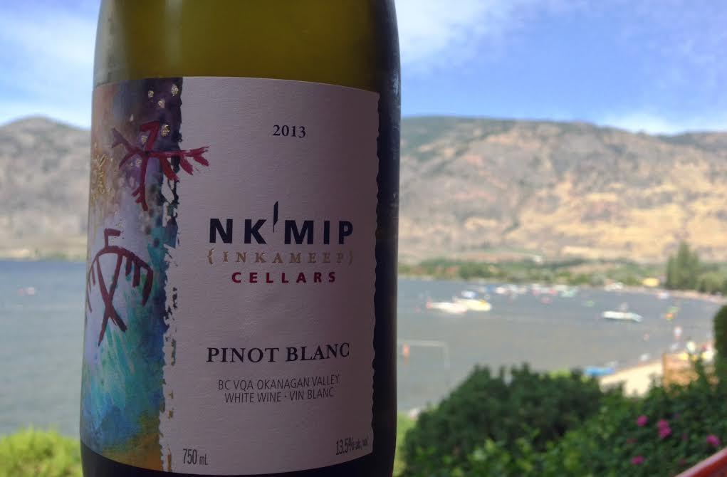 2013 Pinot Blanc Nk'mip Cellars