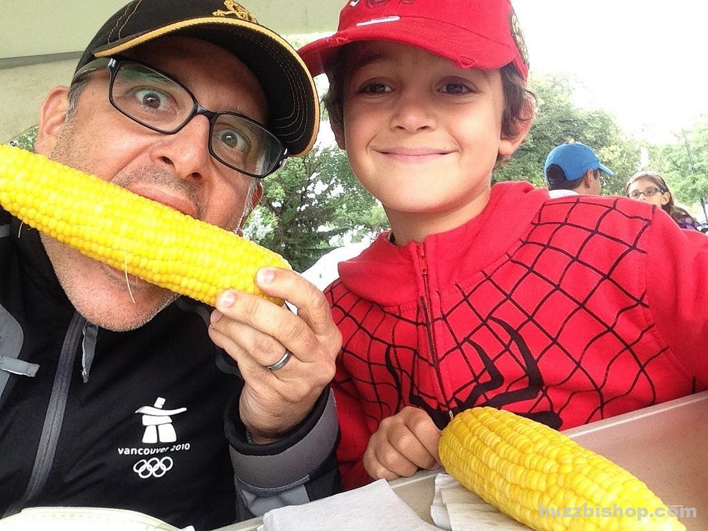 Taber Corn at Taber Cornfest