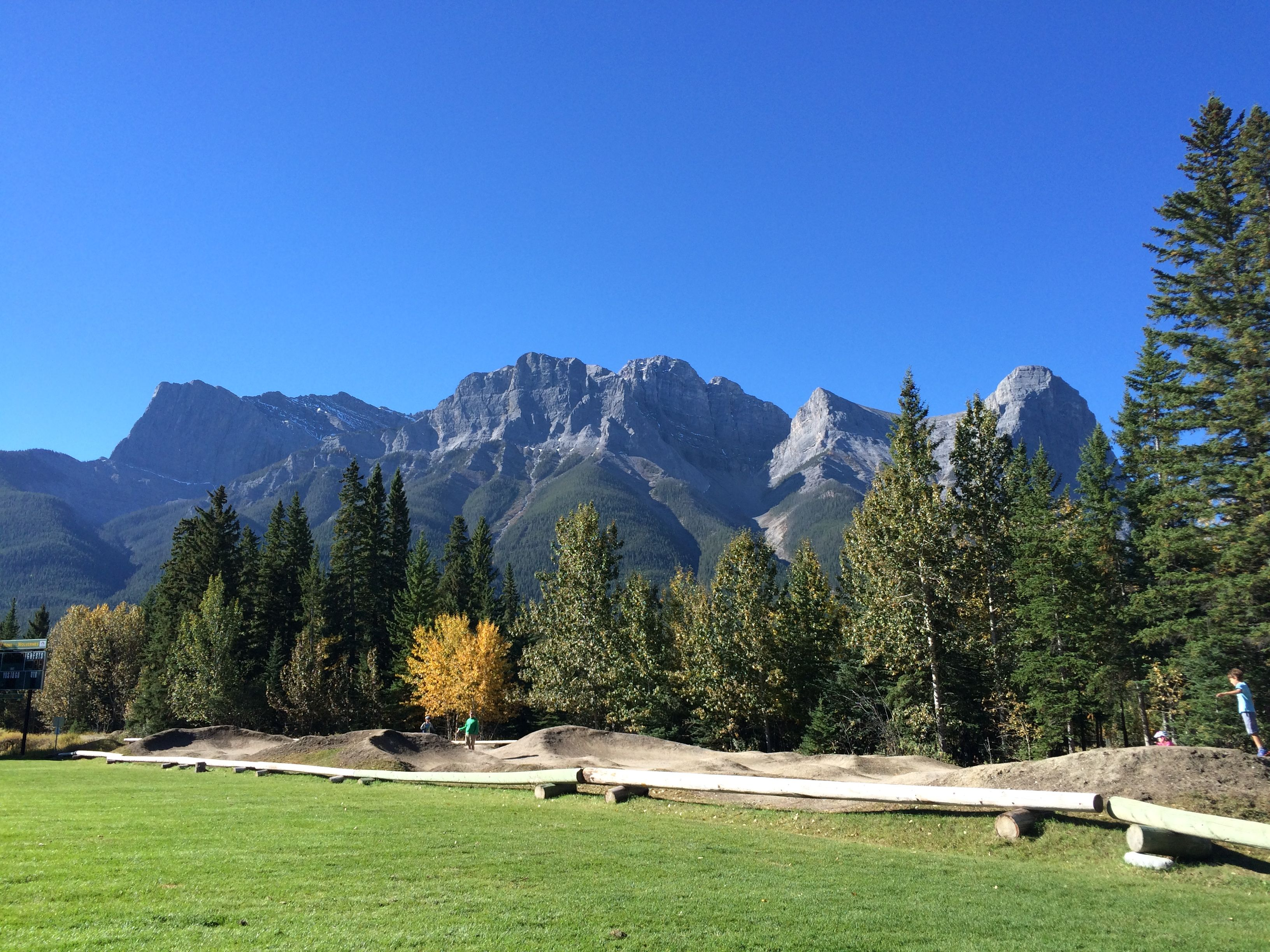 Canmore Pump Track and Skills Park