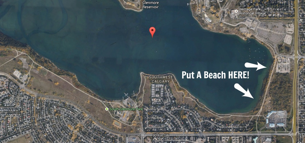 Calgary Needs A Public Beach