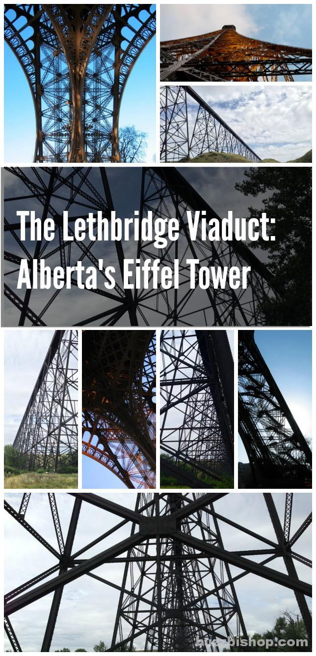 The Lethbridge Viaduct vs The Eiffel Tower #explorealberta
