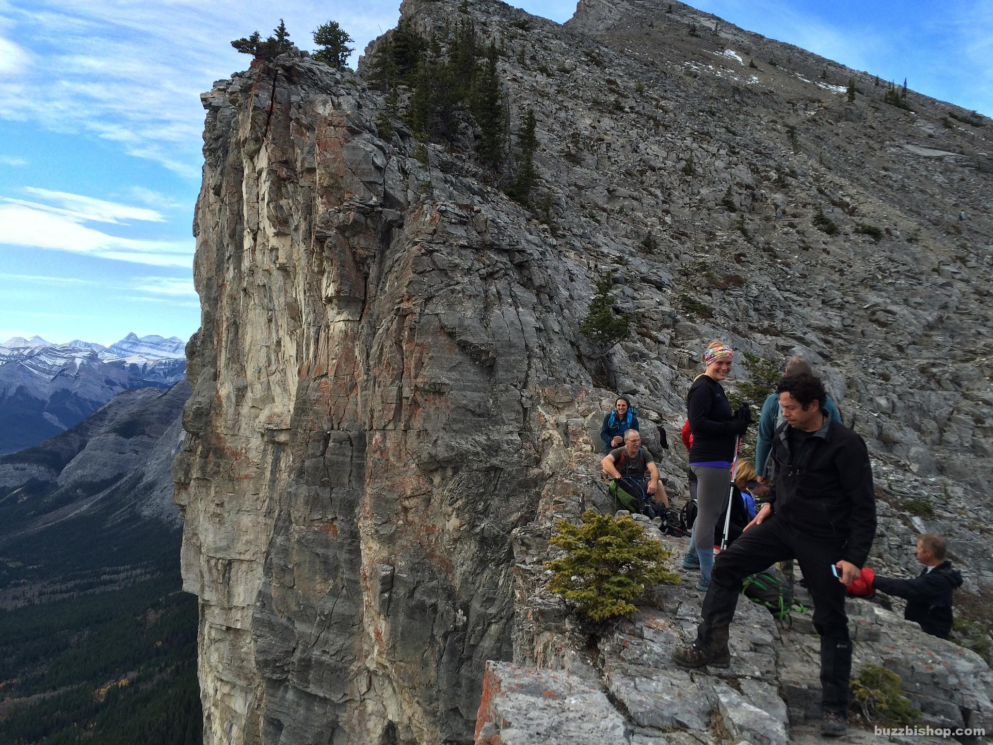 Yamnuska False Summits