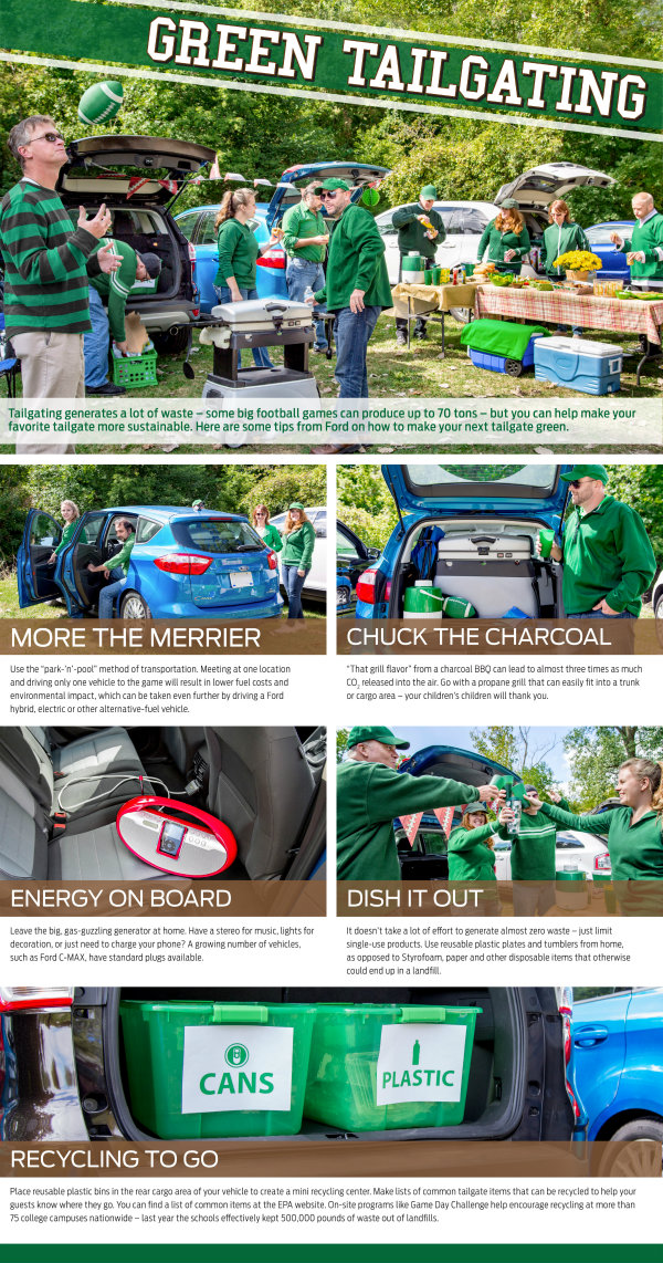 Green Tailgating Tips