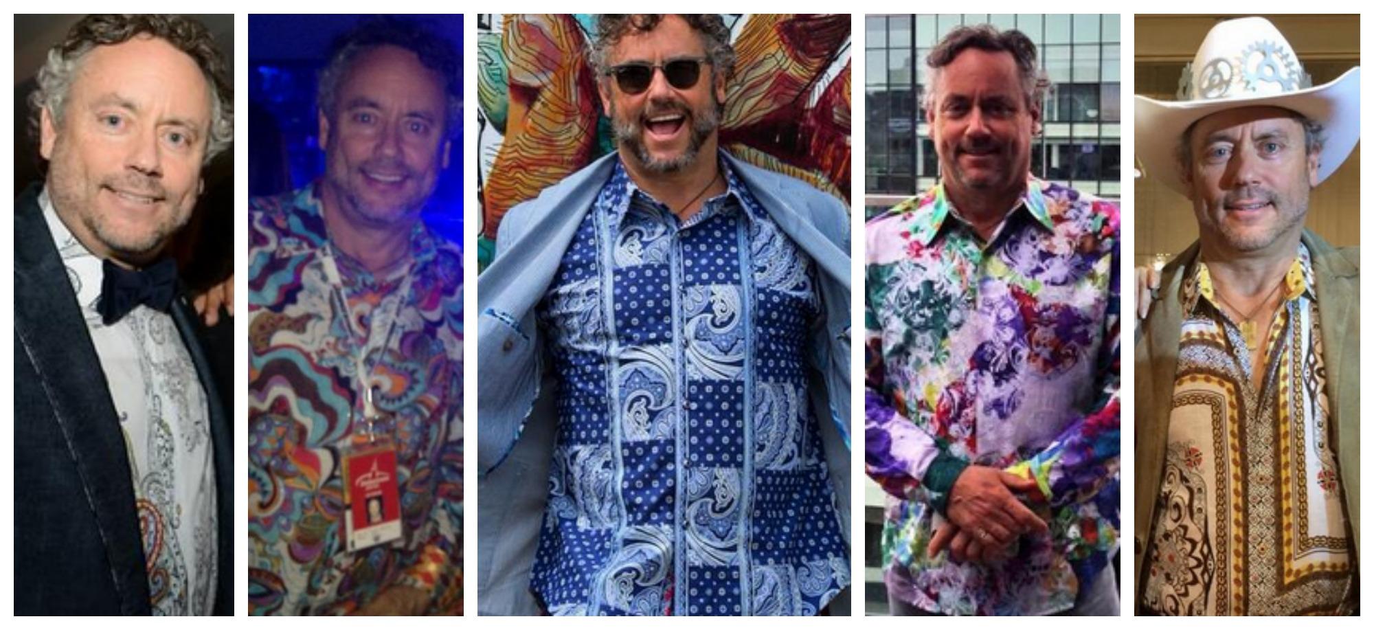 W Brett Wilson's Tacky Shirts