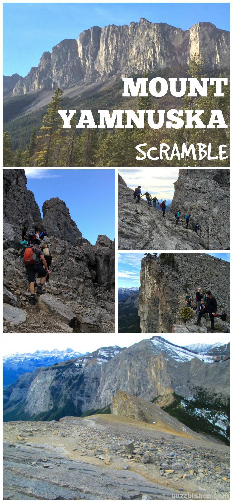 Mount Yamnuska Scramble