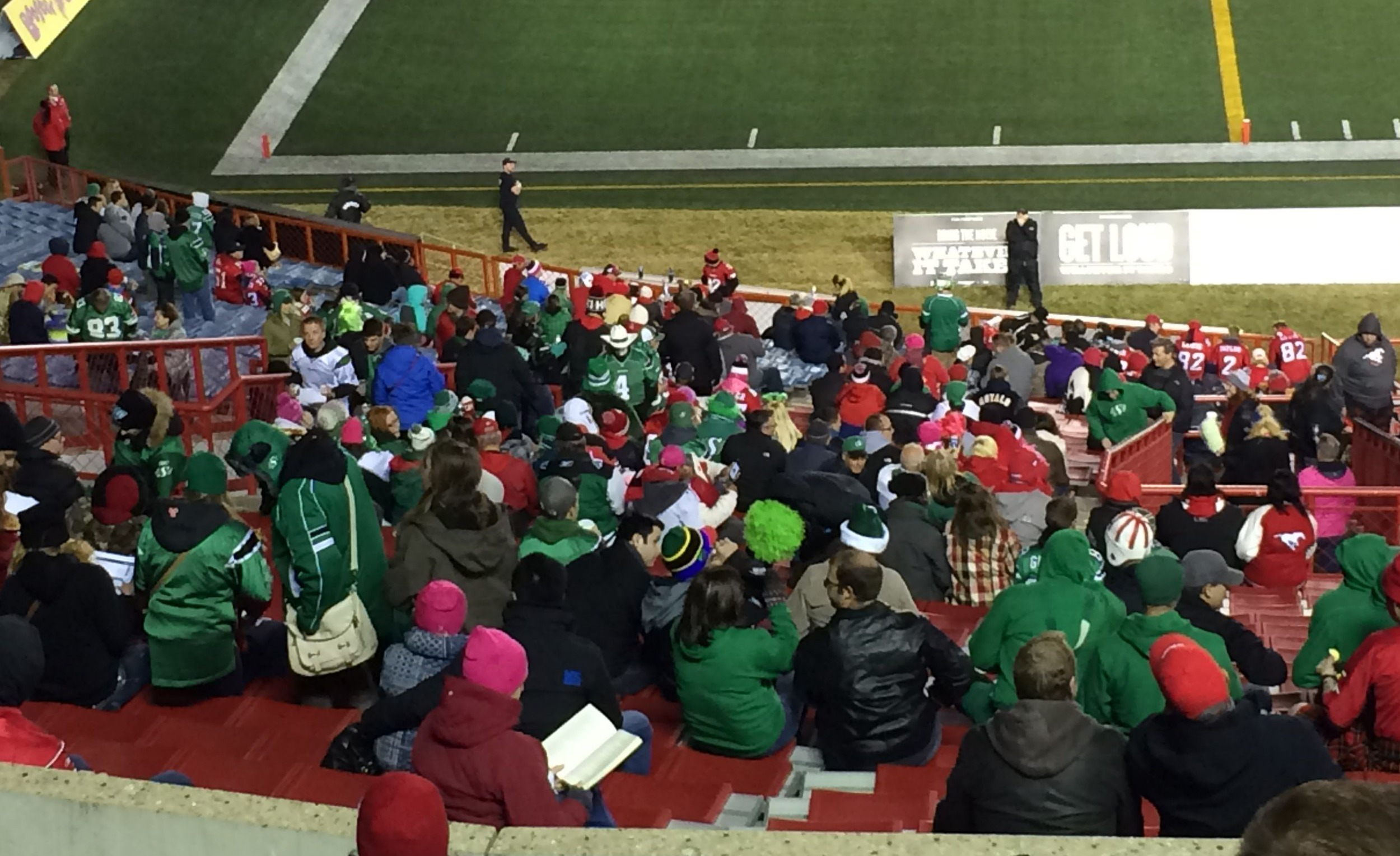 Riderfans at Stadium