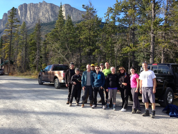Mount Yamnuska hike with CORA