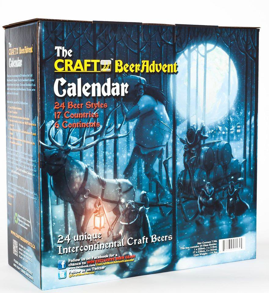 2014 craft beer advent calendar